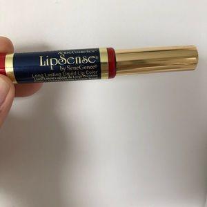 LipSense longwear lipstick in cranberry!
